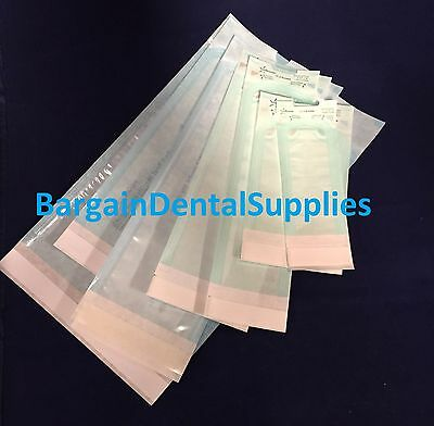 "Self-sealing Sterilization Pouch 3.5""x 10"" Dental Medical Tattoo Beauty 4200 Pcs"