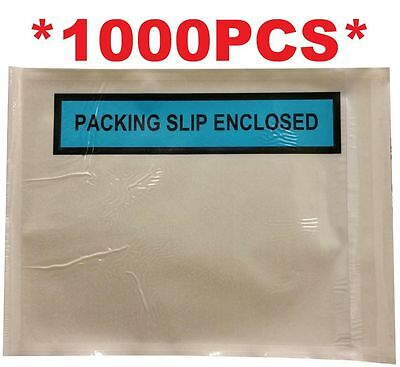 1000 PCS Packing List/Invoice Enclosed Doculope/Envelope/Pouch/Slip 150 x 115 mm
