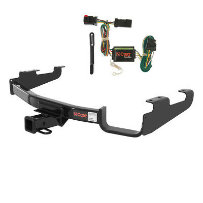 CURT Class 3 Trailer Hitch & Wiring for Chrysler Town & Country, Dodge Caravan