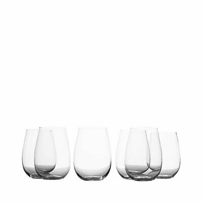 NEW Maxwell & Williams Mansion Stemless White Wine Glass 500ml Set of 6 (RRP $35