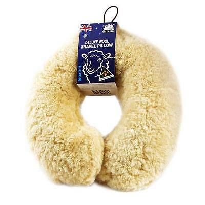 Sheepskin Deluxe Wool Adult Travel Pillow
