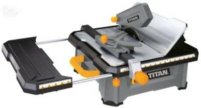 Titan-Portable-Wet-Tile-Saw-650W-Water-Circulation-Diamond-Blade-Large-Table