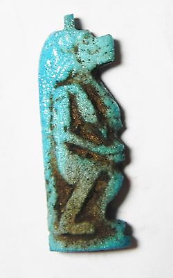 Zurqieh- Af544- Ancient Egypt, 18Th Dynasty, Fainece Amulet Tawaret. 1400 B.c