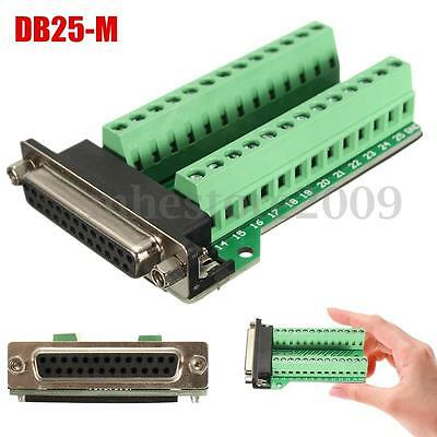 New DB25 Connector 25 pins Female Adapter RS-232 Port Interface Breakout Board