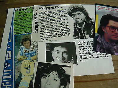 Martin Shaw - Magazine Cuttings Collection (Ref Aa1)