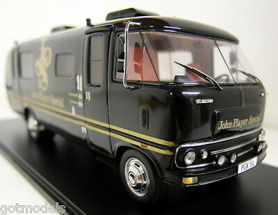 Spark 1/43 Scale S0280 Dodge Travco Team Motorhome Lotus 1973 J.P.S Livery