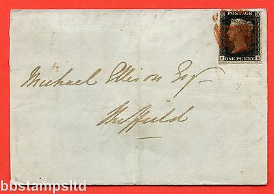 "SG. 2. A1 (2). AS5. "" FE "". 1d black. Plate 1b. A good used example on cover."
