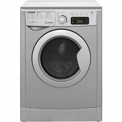 Indesit EWDE7125S My Time Free Standing 7Kg 1200 Spin Washer Dryer Silver New