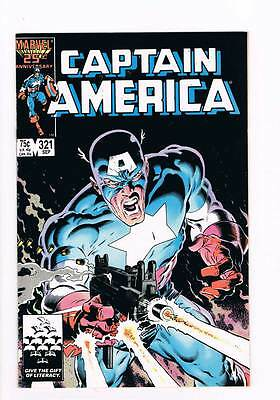 Captain America # 321 Ultimatum ! grade 9.0 scarce book !!