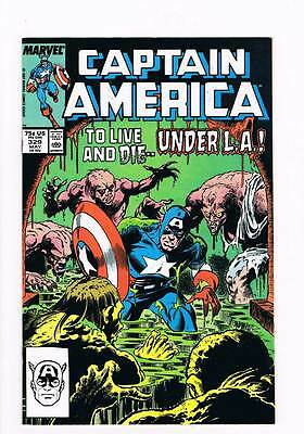 Captain America # 329 Movers and Monsters ! grade 9.0 hot book !!