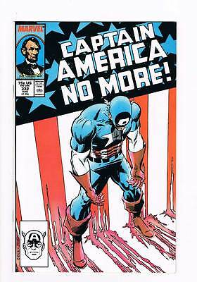 Captain America # 332 The Choice ! grade 9.0 scarce book !!