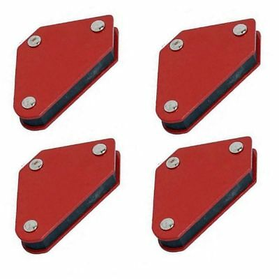 Heavy Duty x4 10lb Small Welding Magnet Right Angle Square Holder Soldering