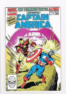 Captain America Annual # 9 The Terminus Factor: Stage one ! grade 9.0 hot book !