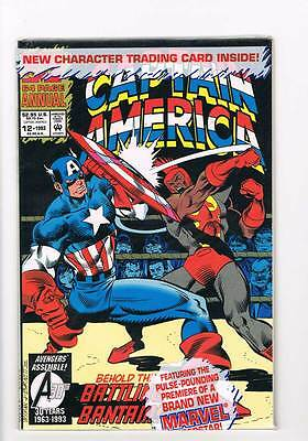 Captain America Annual # 12 Blood of a Fighter ! grade 9.0 hot book !