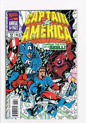 Captain America Annual # 13 Heritage of Hatred ! grade 9.0 hot book !