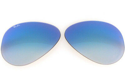 1995b8d8835 Lenti Ricambio Ray Ban 3026 62 4O Outdoorsman Blue Mirror Gradient  Replacement