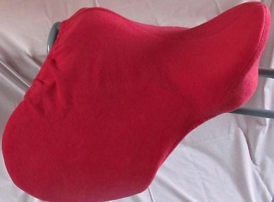 Equestrian Saddle Covers Quality Polar Fleece, Elasticated to Fit