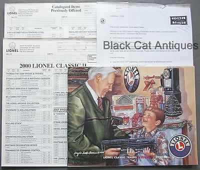 2000 Lionel Classic Model Trains & Accessories Catalog Vol 2. & Order Forms