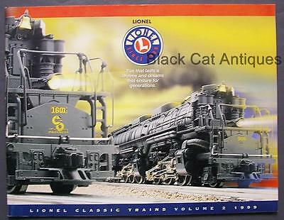 Orig 1999 Lionel Classic Model Trains & Accessories Catalog Vol. 2 with Prices
