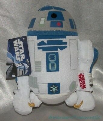 "NEW Rare COMIC IMAGES Series 2010 STAR WARS Plush 8"" Classic R2D2 DROID"