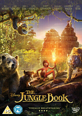 The Jungle Book DVD (2016) Neel Sethi, Favreau (DIR) cert PG Fast and FREE P & P