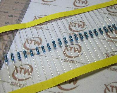 Metal Film Resistor 1/4W 0.25W  ±1% 0.1 Ohm - 10M Ohm high quality