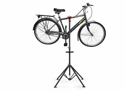 Bicycle Repair Stand Bike Repairs Height Adjustable Tool Tray Clamp Rotate 30Kg