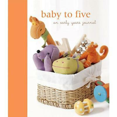 Baby to Five Journal Toddler Memory Record Book Keepsake Mother Child