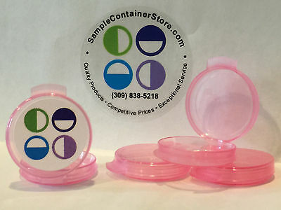 (50) 1/20 oz PINK Lacon Sample Containers for scents, Younique, Makeup, Soap