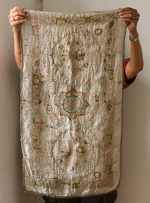 SUPERB Antique TURKEY embroidered towel, Ottoman Empire