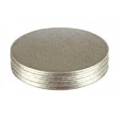 "5 Pack of Cake Boards Round Drum 11"" 12mm Thick Board Birthday Party"
