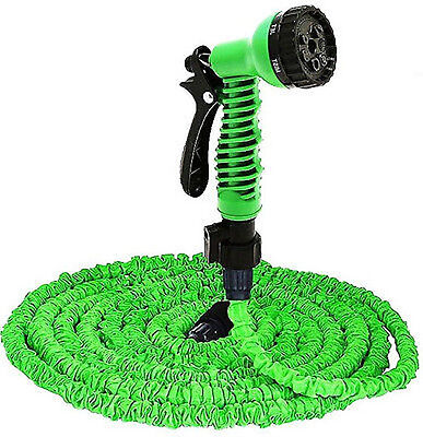 Expanding Magic Powerful Hose Pipe Garden 50Ft 8 Speed Spray
