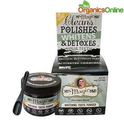 My Magic Mud Whitening Detoxifying Tooth Powder w/ Activated Charcoal 85g