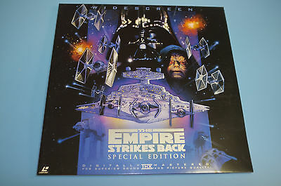 Star Wars The Empire Strikes Back Special Edition Japan Import Laserdisc