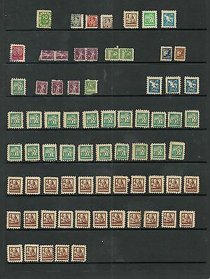 Large lot of Kinderpost stamps and stationary