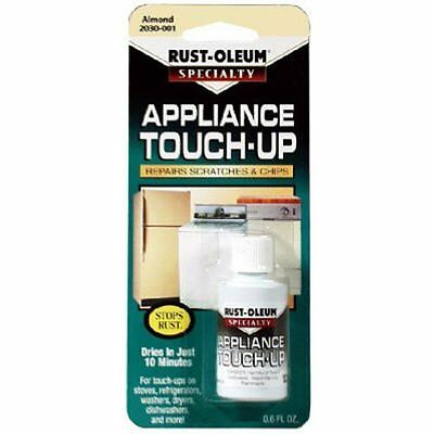 Rust-Oleum 203001 .6-Ounce Specialty Brush Bottle Appliance Touch Up Almond AOI