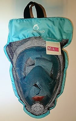 AUTHENTIC Tribord Easybreath Snorkeling Mask, ATOLL, size M/L, latest model!