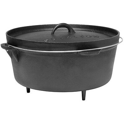 NEW - Spinifex 9 Quart Cast Iron Dutch Oven