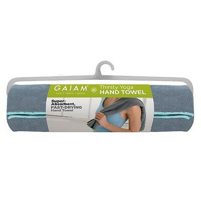 NEW - Gaiam Microfibre Yoga Hand Towel