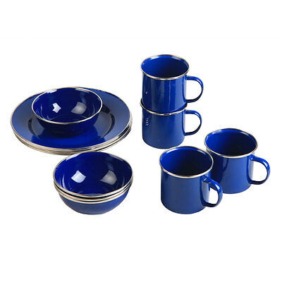 NEW - Spinifex Enamel Dinner Set