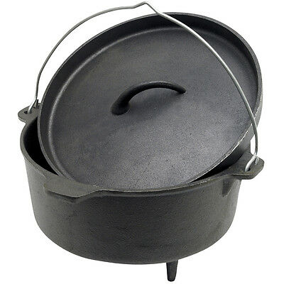 NEW - Spinifex 4.5 Quart Cast Iron Oval Dutch Oven