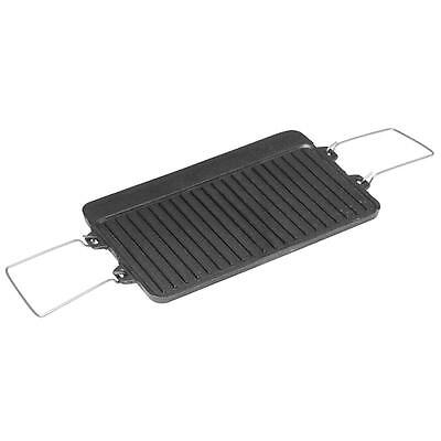 NEW - Spinifex Cast Iron 2 Burner BBQ Plate