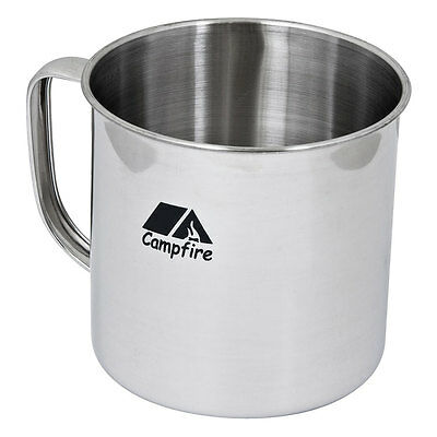 NEW - Campfire Stainless Steel 9 cm Mug