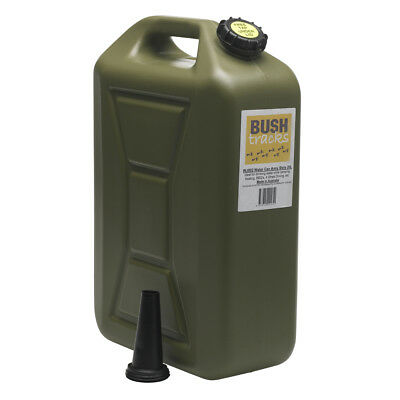 NEW - Bushtracks Water Jerry Can