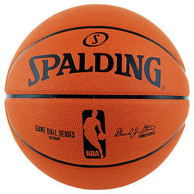 NEW - Spalding NBA Rubber Series Game Ball