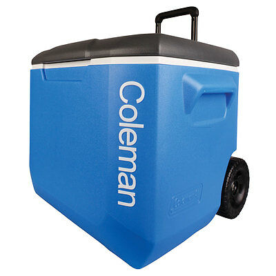 NEW - Coleman 57 Litre Branded Wheeled Cooler