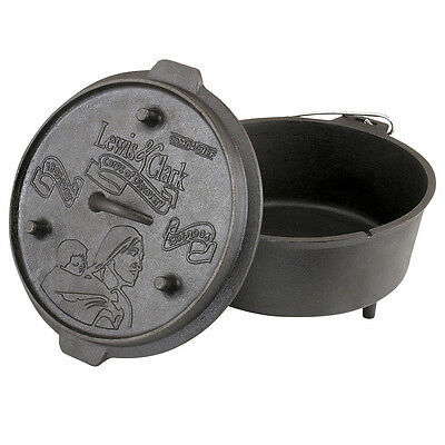 NEW - Camp Chef Deluxe Dutch Oven