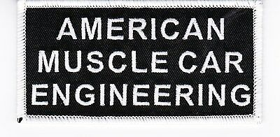 American Muscle Iron On Patch Embroidered Buick Plymouth Oldsmobile Amc Pontiac