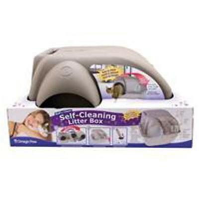 Omega Paw 021002 Self-Cleaning Litter Box Medium