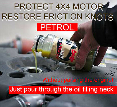 4x4 petrol engine restorer, compression repair, SUPROTEC additive automotive oil